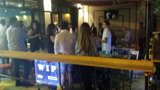 WIP Burger & Pizza: Foto serata a tema