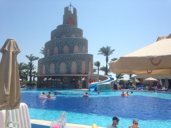 Bodrum Imperial: Pool and slide