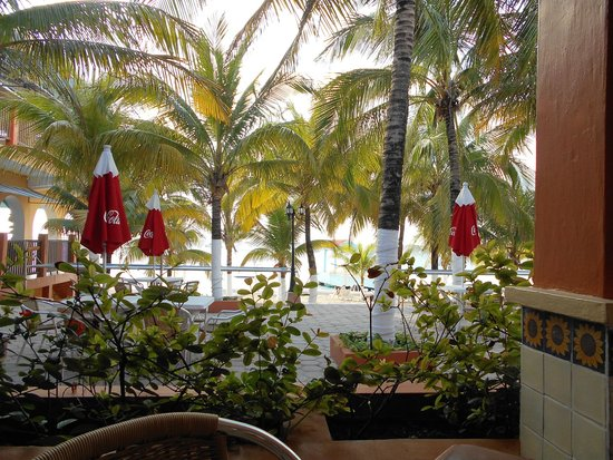 Hotel Cozumel and Resort: My View from the Giro Sol restaurant