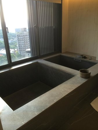 Grand View Resort Beitou : in-room hot spring