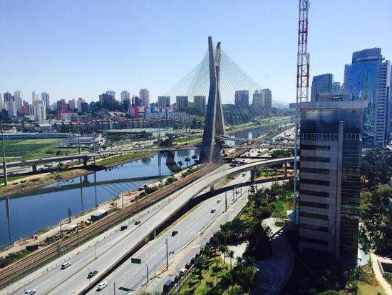 Grand Hyatt Sao Paulo: Hotel room view