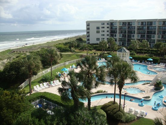 Litchfield Beach & Golf Resort: Shot from our 4th floor room
