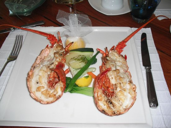 Paradis Beachcomber Golf Resort & Spa : Aragosta
