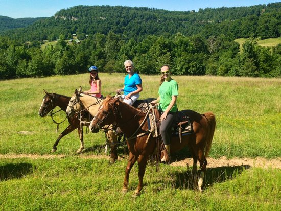 Horseshoe Canyon Ranch: First trail ride.
