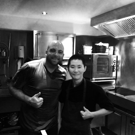 HANgoût Restaurant: Me and Chef Taka!! What am amazing chef!