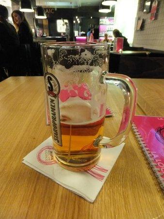 Mosaic House: Mmmmmm, beer