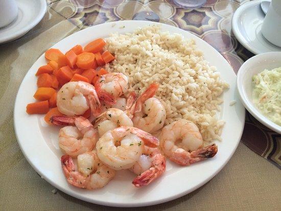 Restaurant la Sagouine : Jumbo shrimp in garlic butter!