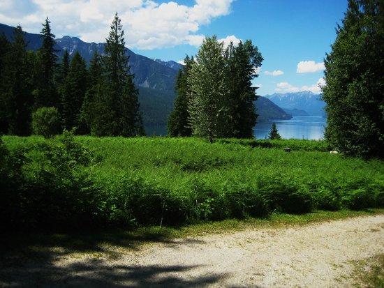 Blue Sky Resort: View of Slcan Lake