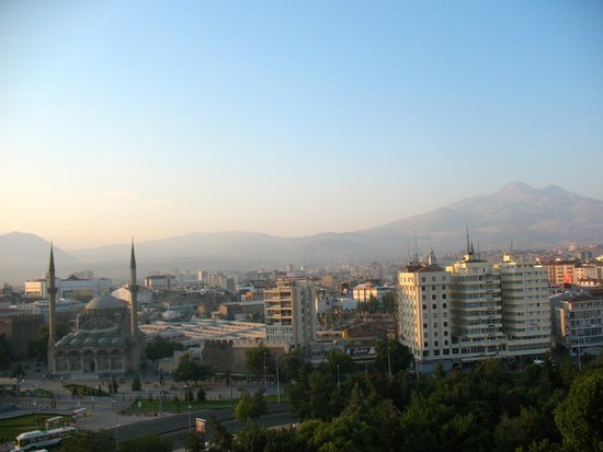 View from my room, Hilton Kayseri