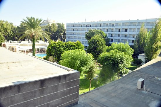 Mitsis Grand Hotel: View from room