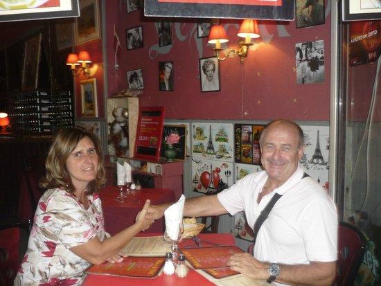 Le Bourbon : 1 settembre 2014 cena nel quartiere latino di parigi