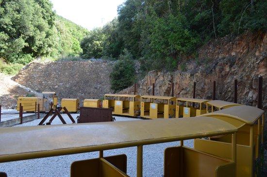 Il Parco Archeominerario di San Silvestro: Il trenino della miniera