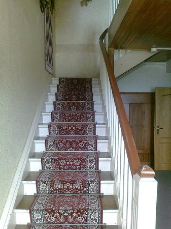 Relais du Klevener - stairs to our room on the second floor