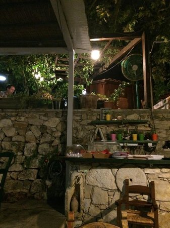 The Sterna of Bloumosifis: Part of the garden