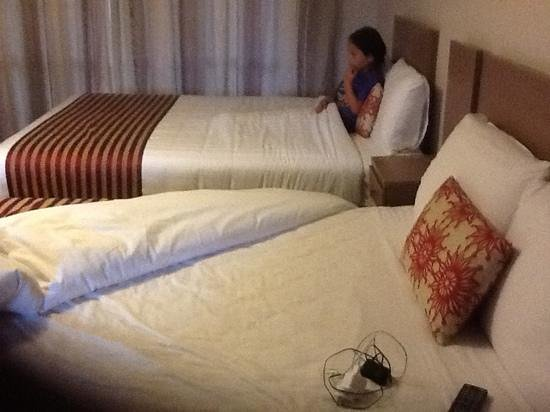 Lake Rotorua Hotel: a bed each