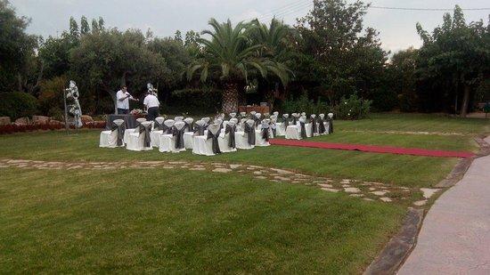 Masia Tipica Crusells: Preparando mi boda civil, todo excelente