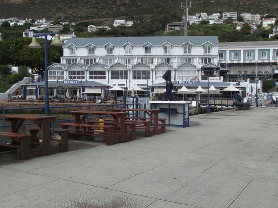 Simon's Town Quayside Hotel and Conference Centre: Blick vom Hafen