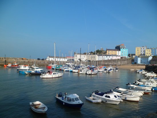 The Albany Hotel: Tenby Harbour, a few minutes walk away.