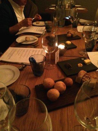 La Mouette: The table setting