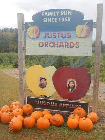 Justus Orchard: entrance