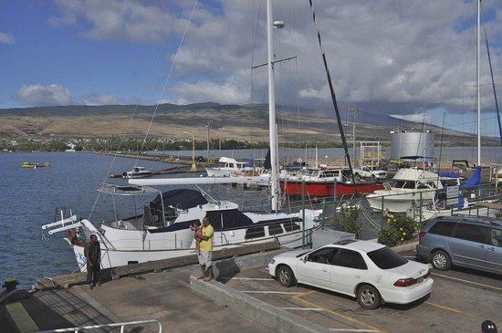 A Touch of Molokai: The wharf at Kaunakaikai