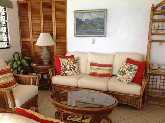 Carimar Beach Club: Relaxing area  in the living room
