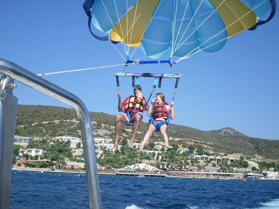 Ersan Resort & Spa: parachute ascensionnel