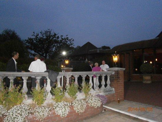Barton Grange Hotel : Upstairs Bar & Terrace