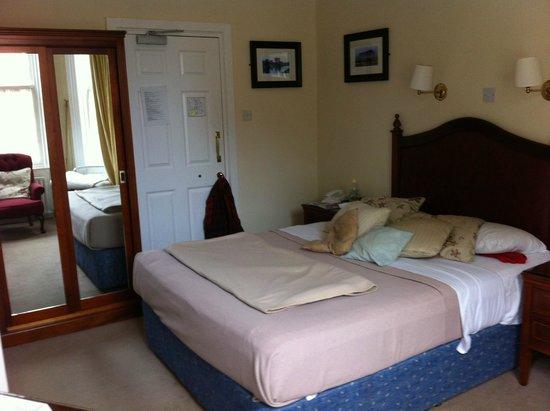 Egans House: Zimmer 27 vom Fenster aus