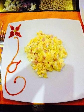 Jardines de Chamana: Scrambled eggs