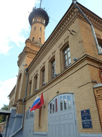 Police Fire Station with Fire Tower in Sokolniki