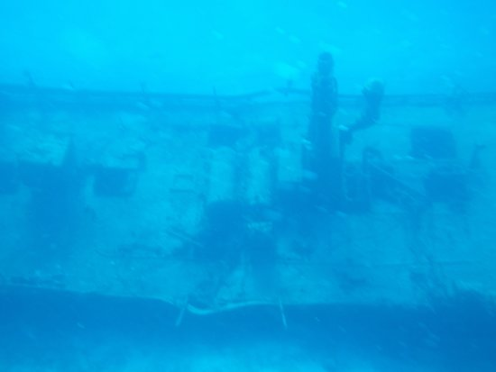 Stuart Cove's Dive Bahamas: One of the wrecks