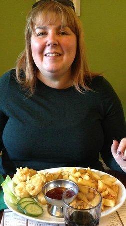 Marino's Fish Restaurant and Takeaway: Langoustine & Chips