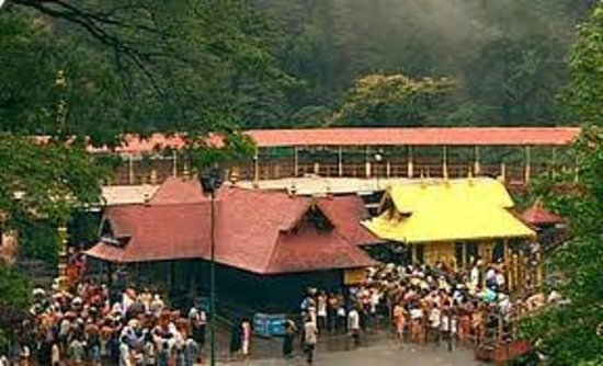 Pathanamthitta, India: Sabarimala temple