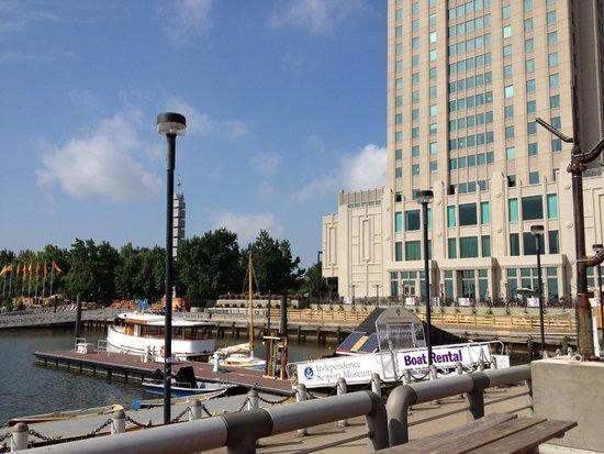 Hilton Philadelphia at Penn's Landing: From the waterfront