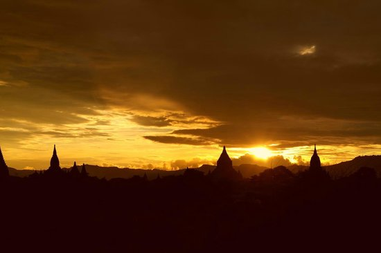 Temples de Bagan : Bagan sunset