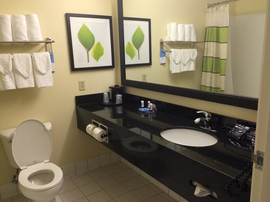 Fairfield Inn & Suites Memphis East/Galleria : Bathroom