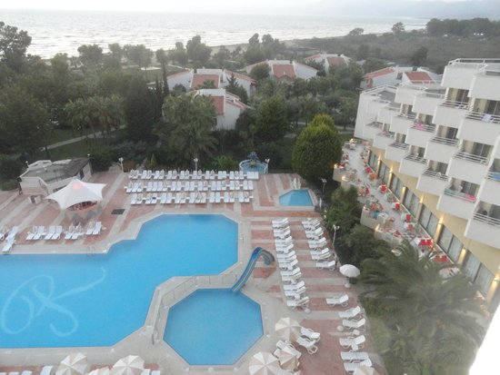 Richmond Ephesus Resort : view from top floor