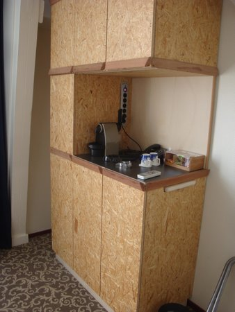 Hotel Fita: coffee station
