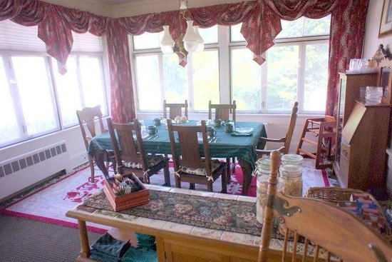 Alexander Hamilton House: Dining area