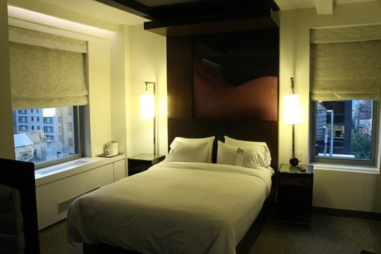 W New York: very comfy king bed