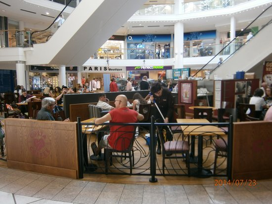 usually very busy picture of costa coffee capitol centre. Black Bedroom Furniture Sets. Home Design Ideas