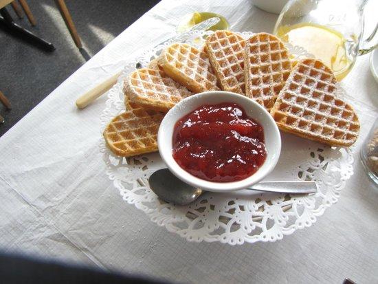 Djupvasshytta's breakfast dessert