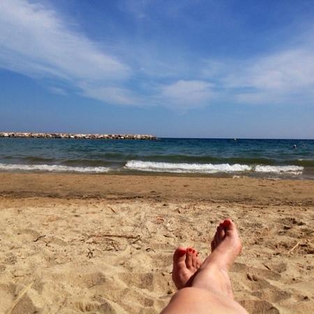 Hotel Best Maritim: после шопинга- пляж, или до..