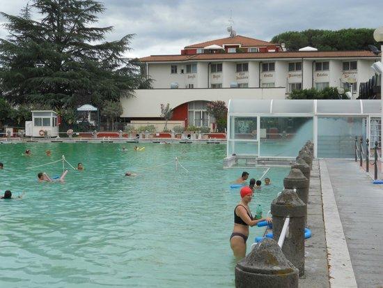 Viterbo, Italie : Piscina delle terme
