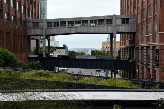 Foods of New York Tours: View from the high line