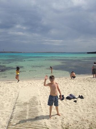 Insotel Punta Prima Prestige Suites & Spa: local beach Punta Prima