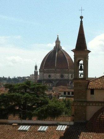 Albergo Hotel Panorama Firenze: Aussicht auf den Dom
