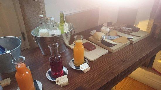 Hotel Pazo de Altamira: Desayuno