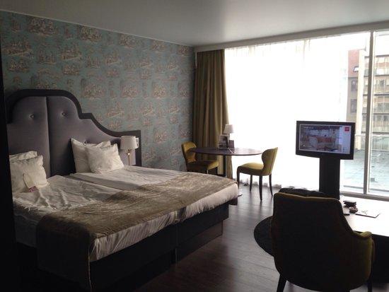 Thon Hotel Bristol Stephanie: Tolle große Zimmer.